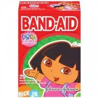 I just covered your blog with 200 band-aids!  Or band-aidos in Spanish.  Say it with me!