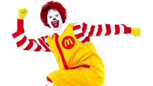 I hate you too, Ronald.  Stupid clown.