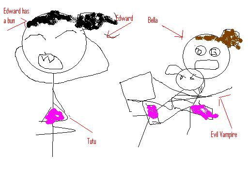 T2's somewhat abstract vision of the Ballet Studio scene