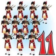 What the hell am I going to do with 11 bagpipers?