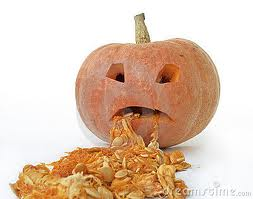 Like this pumpkin, basically.