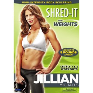 What if I don't want to be shredded?  Quit staring at me, Jillian!