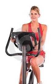 I can turn this exercise bike into a real one with the power of anxiety! Vroom!
