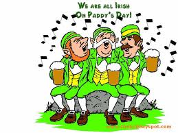 Cause Irish people are all drunks, get it???
