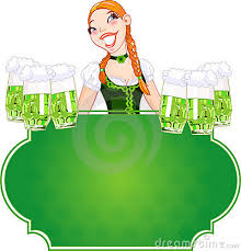 Did we mention there was GREEN BEER today?
