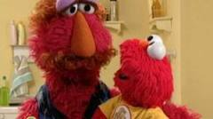 Elmo's dad has Creeper written all over him.
