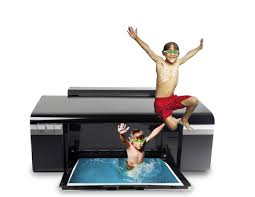 I bet those guys were behind the printer malfunction.  You saw them too, right?  Right?