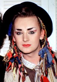 Boy George channeling Raggedy Ann.