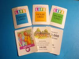 Game Of Life Salary Cards