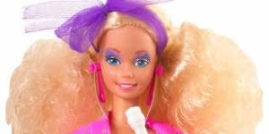 Like the rest of us, Barbie in the 1980s had terrible taste.