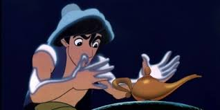 Wait, Aladdin, first put down a bag of sand . . .
