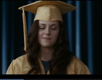 How she got a diploma when she never went to class is a mystery . . .