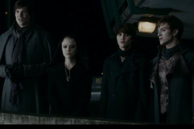 The Great Volturi . . . are bored.