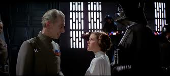 Leia: I recognized your foul stench when I was brought on board Tarkin: It wasn't me.