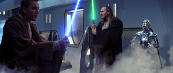 Obi Wan: I have a bad feeling about this Qui Gon: I don't smell anything.