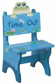 It's such a cheerful little punishment chair!