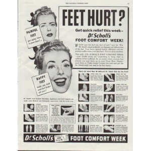Dang it, I missed Dr. Scholl comfort week again.
