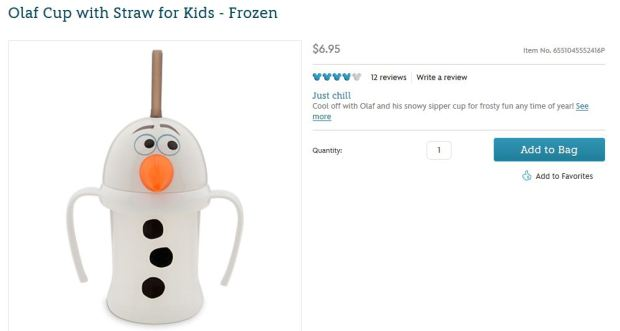 Sure it says Olaf . . .
