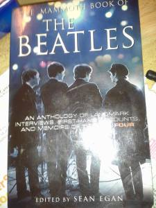 "This book is chock full of info about the Beatles like why they chose the name ""beatles"" and not say ""spiders"" or ""caterpillars""."