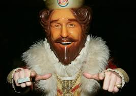 I now pronounce you Burger and King - may I tickle the bride?