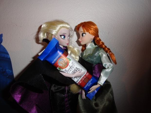 Elsa - you're just not yourself today.  Have you had your snickers?