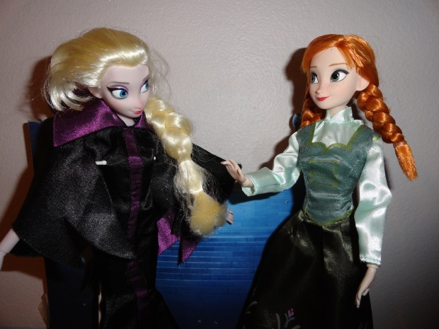 Uh, Elsa, the people at the thrift store called and said you were kinda acting weird.  Again.