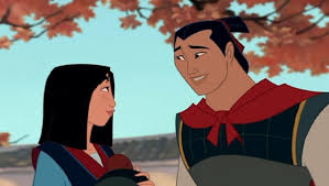 mulan and li shang picture
