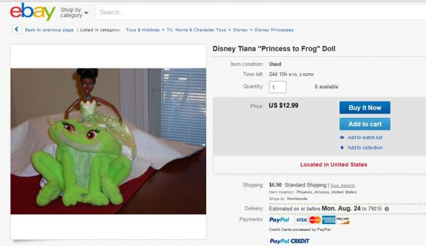 OMG what genetic mutation is THIS? She's part frog! You just never know. Disney, you sickos.