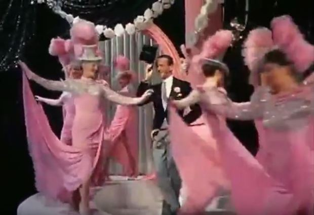 Fred welcomes the real pink ladies - ah back in the days when women were allowed to have thighs!