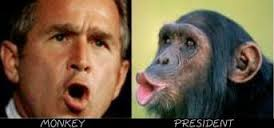 The resemblance between political candidates and monkeys is undeniable.