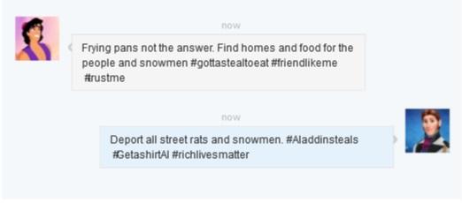 aladdin hans tweet