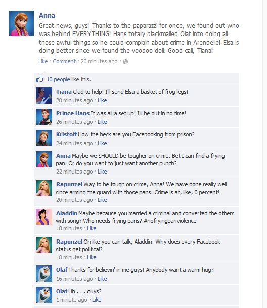 facebook disney posts 4