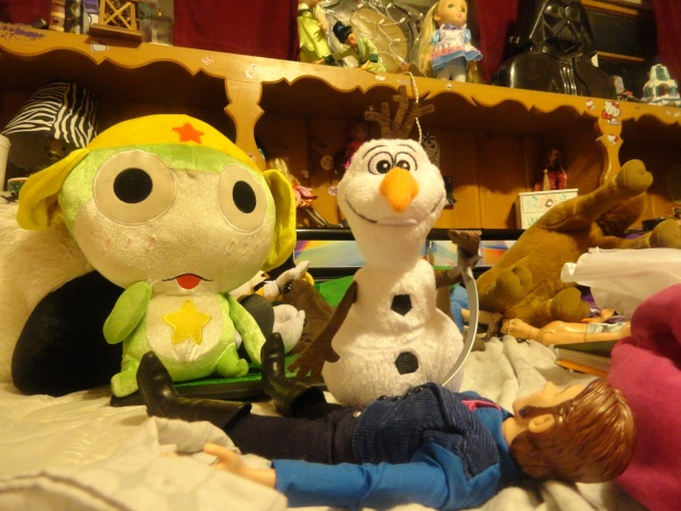 """Olaf is using the """"He needed killin' excuse."""""""