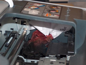 Example: Something is dead in your printer. This could cause a problem.