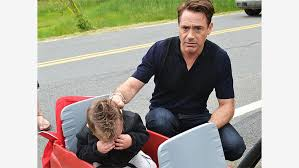SEE? You're even making the kid cry, Robert.