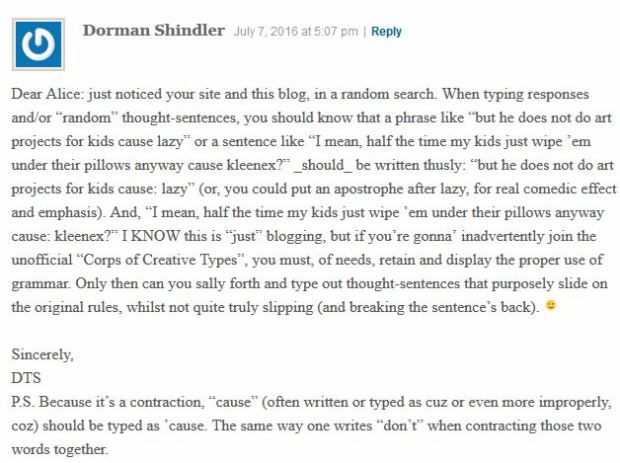Hiiii, Dorman!