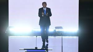 Trump's entrance to the RNC convention. Need I say more?