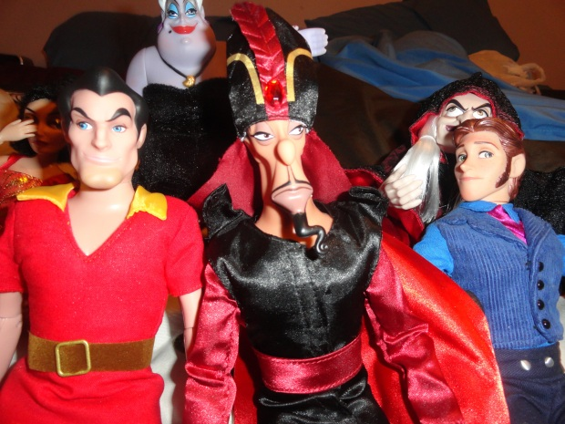 Gaston: YES!  GUNS! Jafar: What about magic? Hans: Sword will do in a pinch.