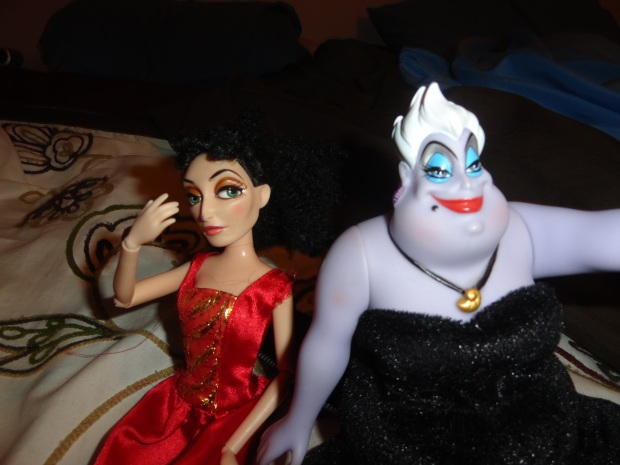Ursula: It IS nice to have things to hold against people, bwahahaha. Mother Gothel: Wikileaks sounds like a plumbing problem.