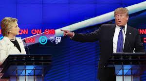 Wait, is that like the presidential debate?