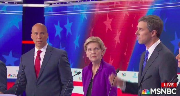 booker warren give stink eye to rork