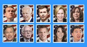 democratic line up round 2