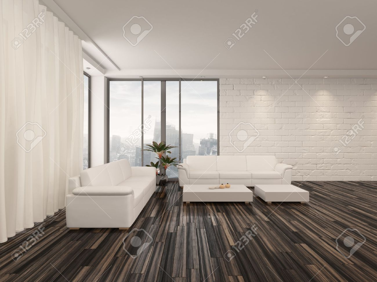 minimalist white